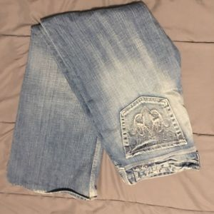Big Star Sweet Low Rise Bootcut Jeans